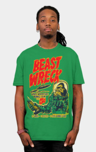 BEAST WRECK ATTACKS! T-Shirt
