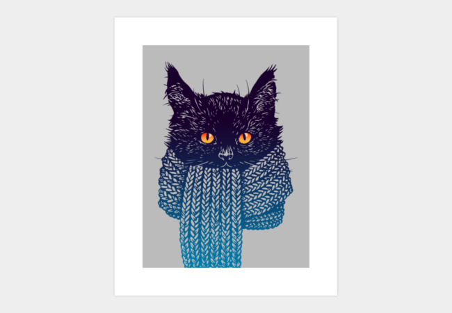 It's cold outside Art Print - Design By Humans