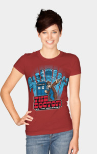 The Doctor VS. The Universe T-Shirt