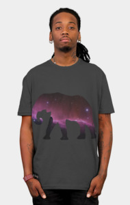 Space Elephant T-Shirt