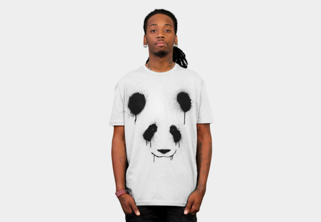 PandaSplatter T-Shirt - Design By Humans