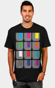 8-BIT Cartridges T-Shirt
