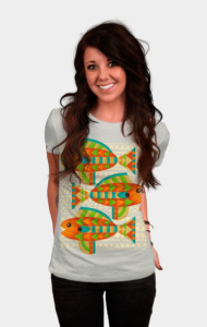 Fish Aztec T-Shirt