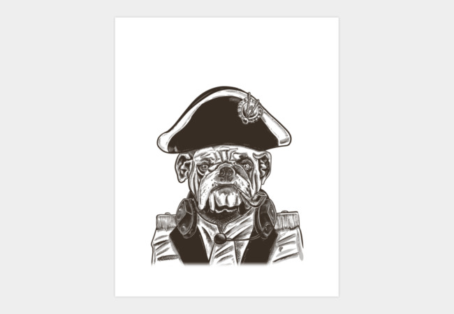 Admiral's Here Art Print - Design By Humans