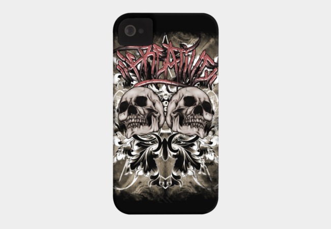KREATIVE SKULLS Phone Case - Design By Humans