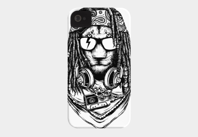 Rock and Roar Phone Case - Design By Humans