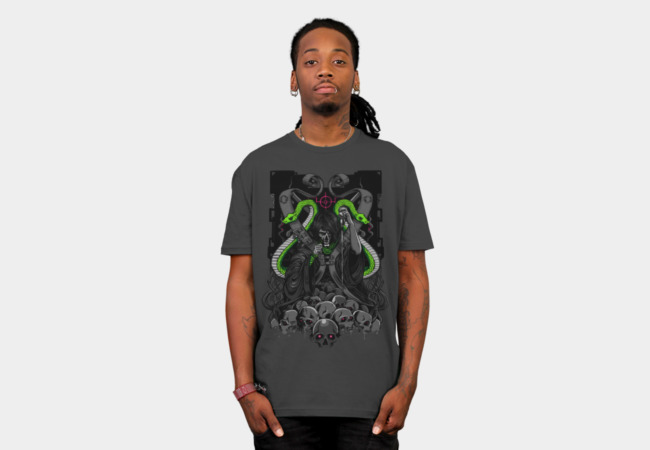 The Serpent Tamer T-Shirt - Design By Humans