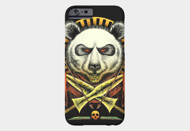 Panda Warrior Phone Case - Design By Humans