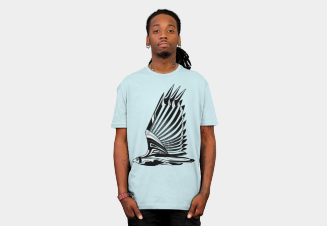 Hawk Deco III T-Shirt - Design By Humans