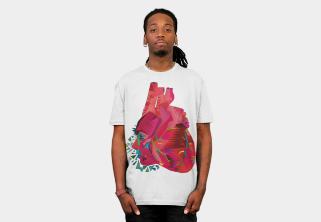 Love is (My) Heart T-Shirt - Design By Humans