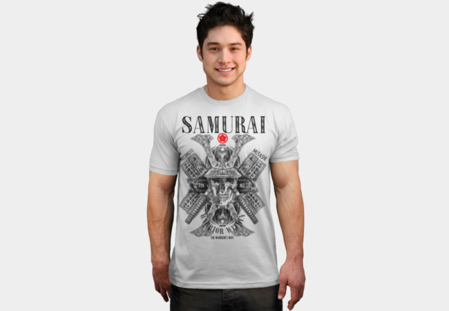 SAMURAI 1 T-Shirt - Design By Humans
