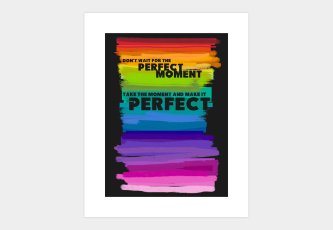 Perfect Art Print - Design By Humans