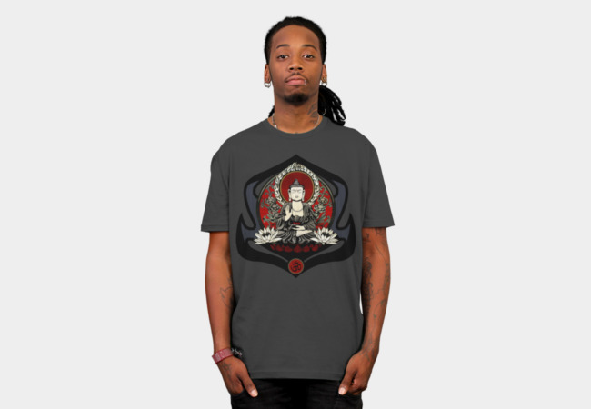 Gautama Buddha T-Shirt - Design By Humans