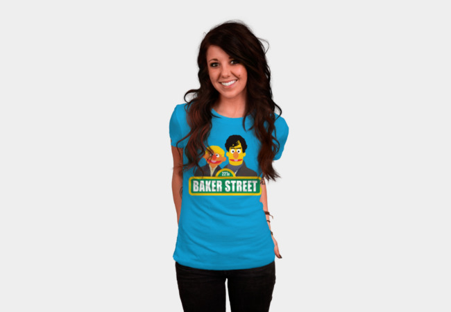 Baker Street T-Shirt - Design By Humans