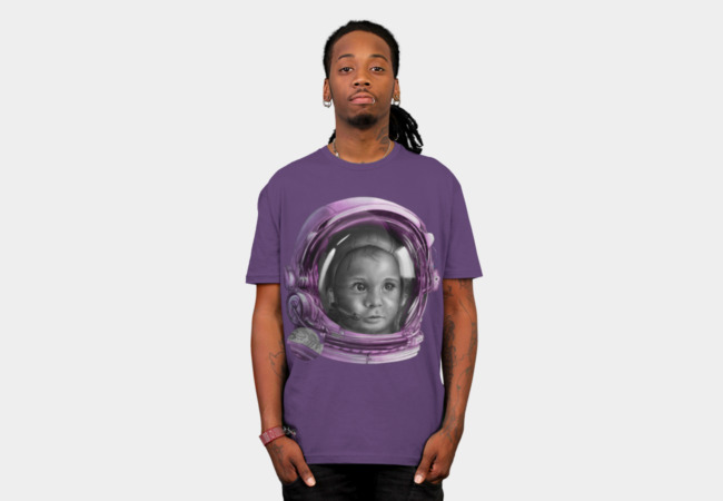Space Baby T-Shirt - Design By Humans