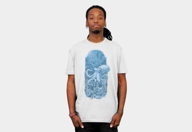 Sealife T-Shirt - Design By Humans