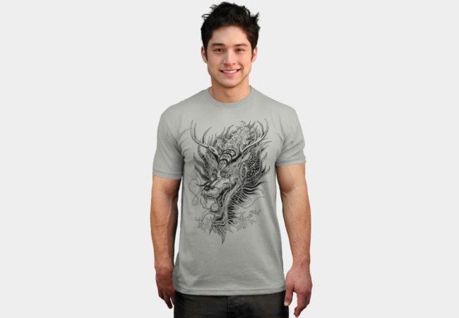 East Love Attack - Dragon love attack T-Shirt - Design By Humans