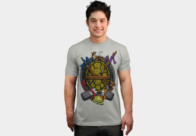Turtle Family Crest T-Shirt - Design By Humans