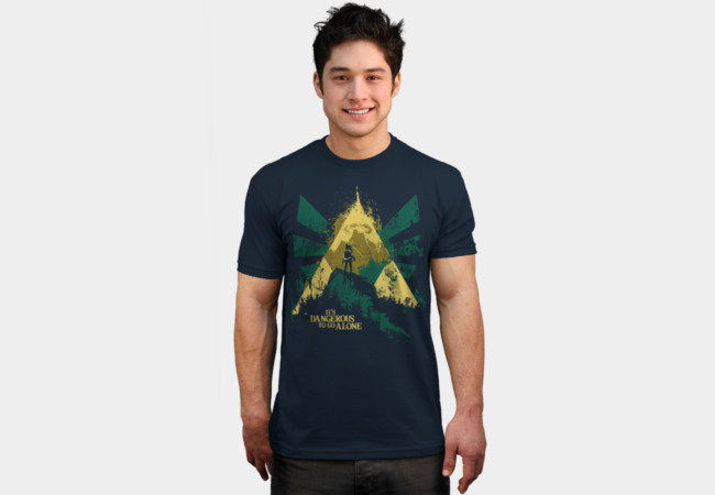 It's Dangerous To Go Alone T-Shirt - Design By Humans