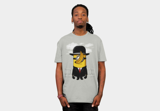 Minion magritte T-Shirt - Design By Humans