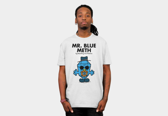 MR.BLUE T-Shirt - Design By Humans