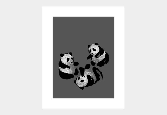 PANDA POWWOW Art Print - Design By Humans