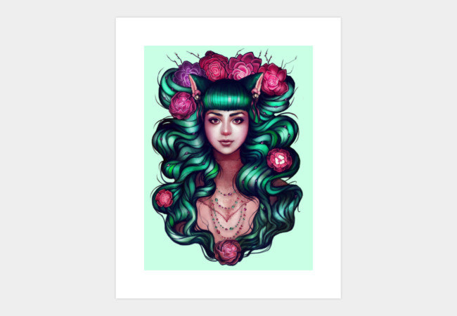Delilah Art Print - Design By Humans