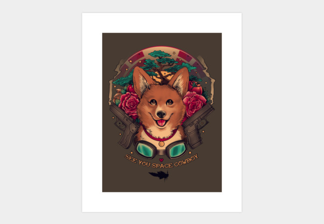 See You Space Cowboy Art Print - Design By Humans