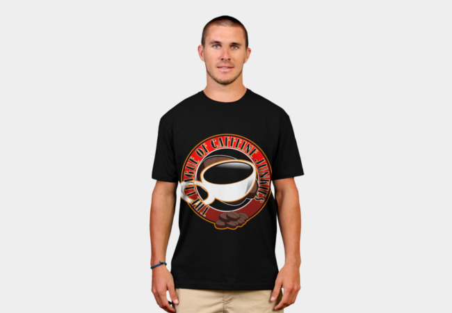 League of coffee drinkers T-Shirt - Design By Humans