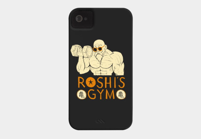 roshi's gym Phone Case - Design By Humans