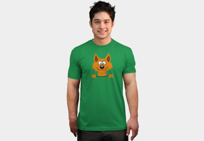 Funny cute Freaky Fox T-Shirt - Design By Humans