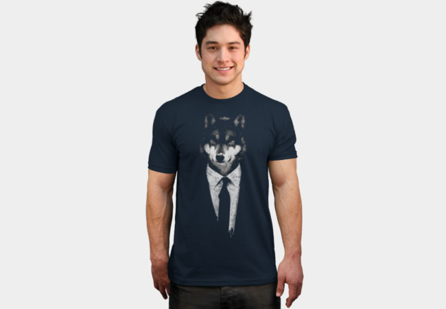 mr wolf T-Shirt - Design By Humans