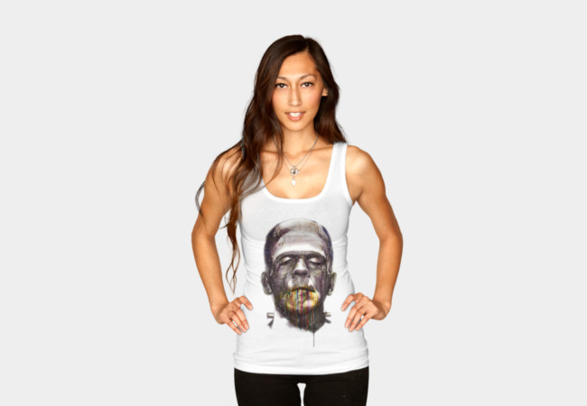 Frankenstein Tank Top - Design By Humans