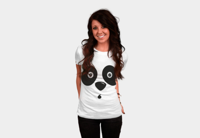 Osito Panda Face T-Shirt - Design By Humans