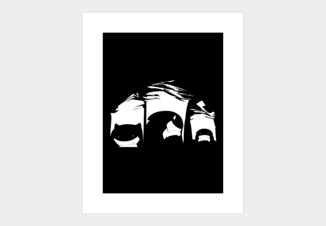 Three little monsters Art Print - Design By Humans