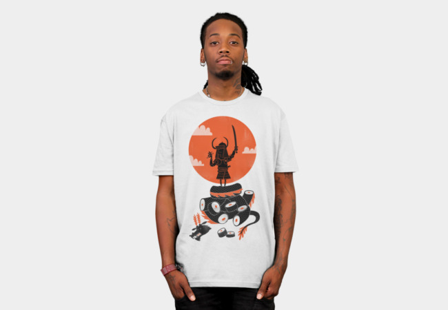 Samurai Sushi T-Shirt - Design By Humans