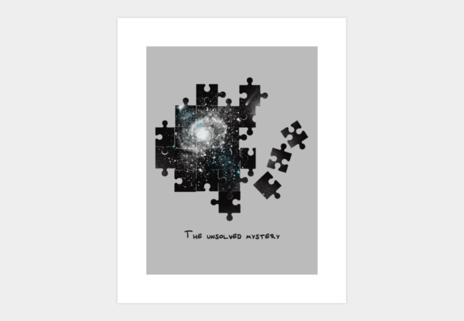 The unsolved mystery Art Print - Design By Humans