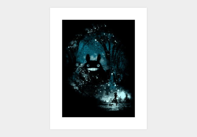 the big friend Art Print - Design By Humans