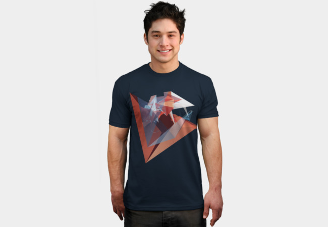 Facet 4 T-Shirt - Design By Humans