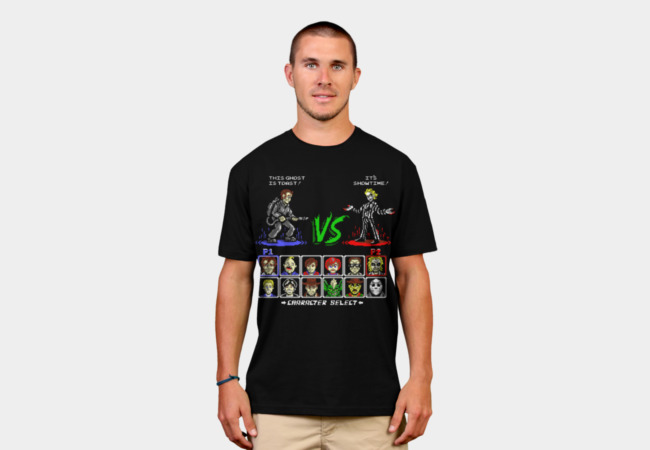 Super 80's Good Vs. Evil T-Shirt - Design By Humans