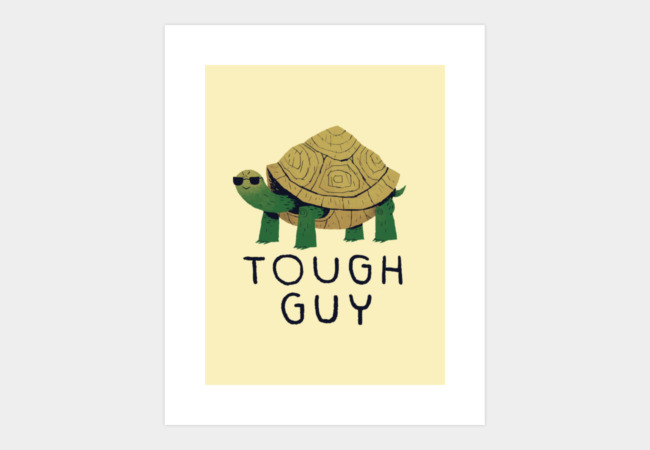 tough guy Art Print - Design By Humans