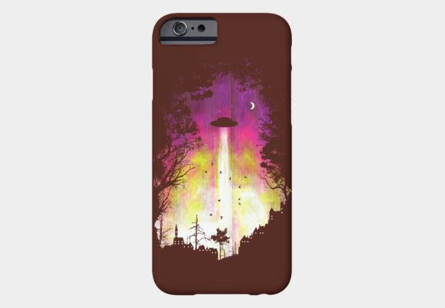 Alienation Radiation Phone Case - Design By Humans
