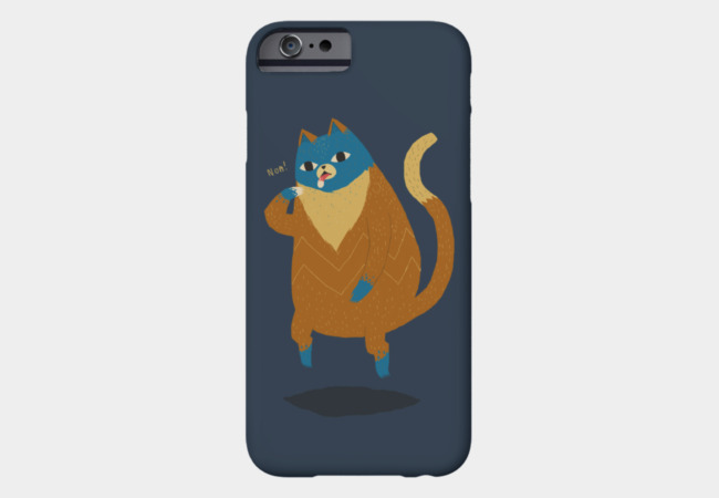 levitation cat Phone Case - Design By Humans