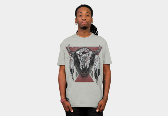 Tatanka T-Shirt - Design By Humans