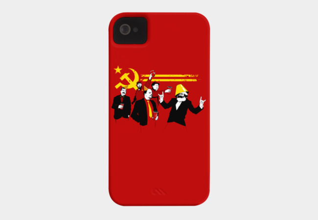 The Communist Party (original) Phone Case - Design By Humans