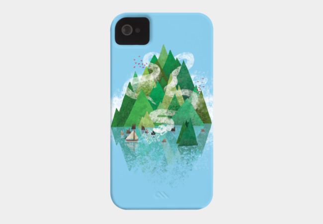 Mysterious Island Phone Case - Design By Humans