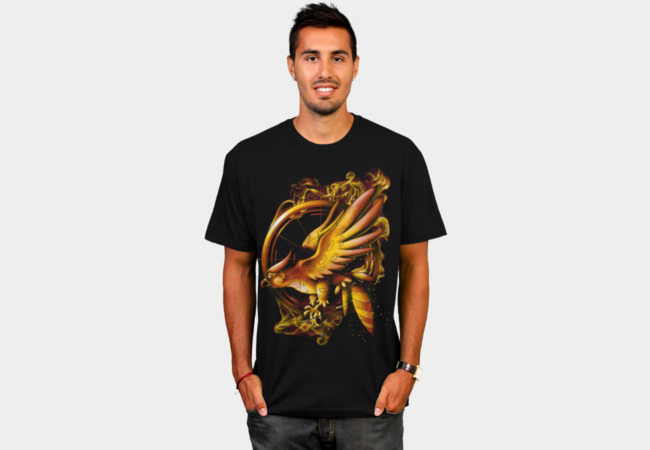 Catching Fire T-Shirt - Design By Humans