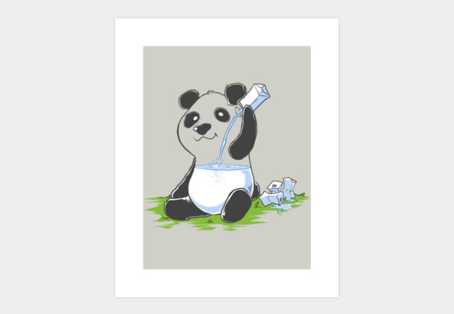 Panda Art Print - Design By Humans