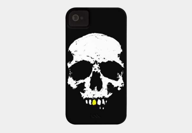 Gentleman Skull Phone Case - Design By Humans