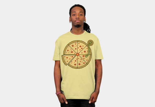 Pizza Vinyl T-Shirt - Design By Humans